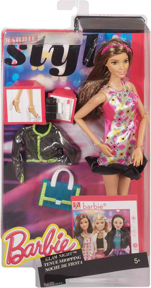 Playline News First Look At Barbie Glam Style Night 2015